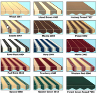 Sunsetter Awning Color Choices
