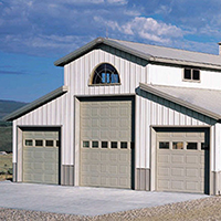 Aspen, AP138C, Raynor Garage Doors, Commercial