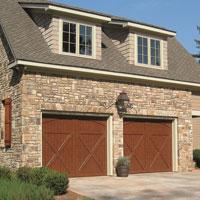Eden Coast, Raynor Garage Doors, Wood Overlay, Residential